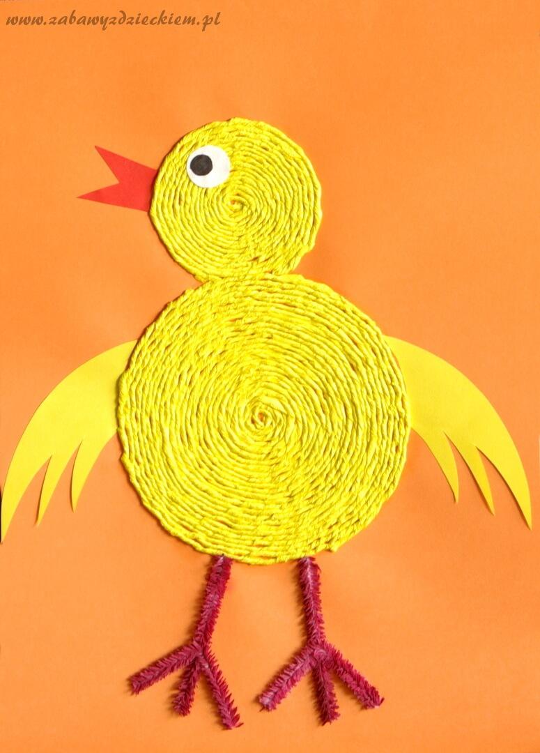 Wielkanocny Kurczak Z Krepiny